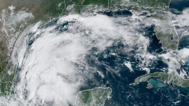 Tormenta tropical «Nicholas» se forma en Golfo de México