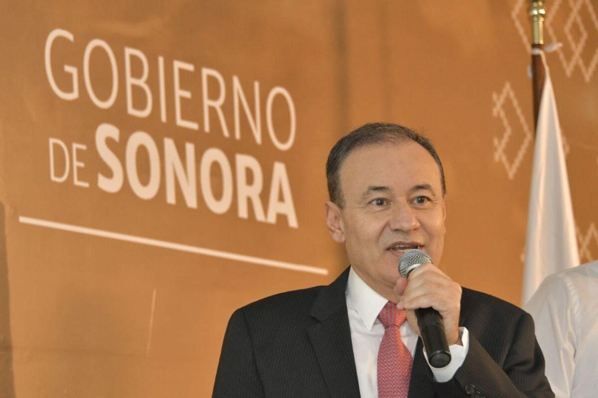 Gobernador Alfonso Durazo presenta programa integral de infraestructura para el estado.