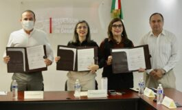 Desarrollo Social y Economía firman convenio para impulsar a las madres jefas de familia
