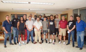 Alcalde de Navojoa recibe a jugadores y directivos de Open Run México y Arizona Triangle