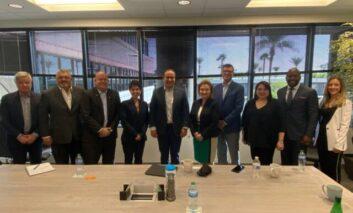 Atiende Toño Astiazarán temas de innovación, minería, transporte y promoción de Hermosillo en Phoenix