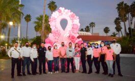 Ayuntamiento conmemora con caravana el Día Internacional de la lucha contra el Cáncer de Mama