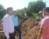 Alcalde Juan Jesús Flores supervisa obras de drenaje
