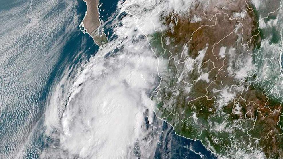 Huracán 'Pamela' causará más afectaciones en Sinaloa y Durango
